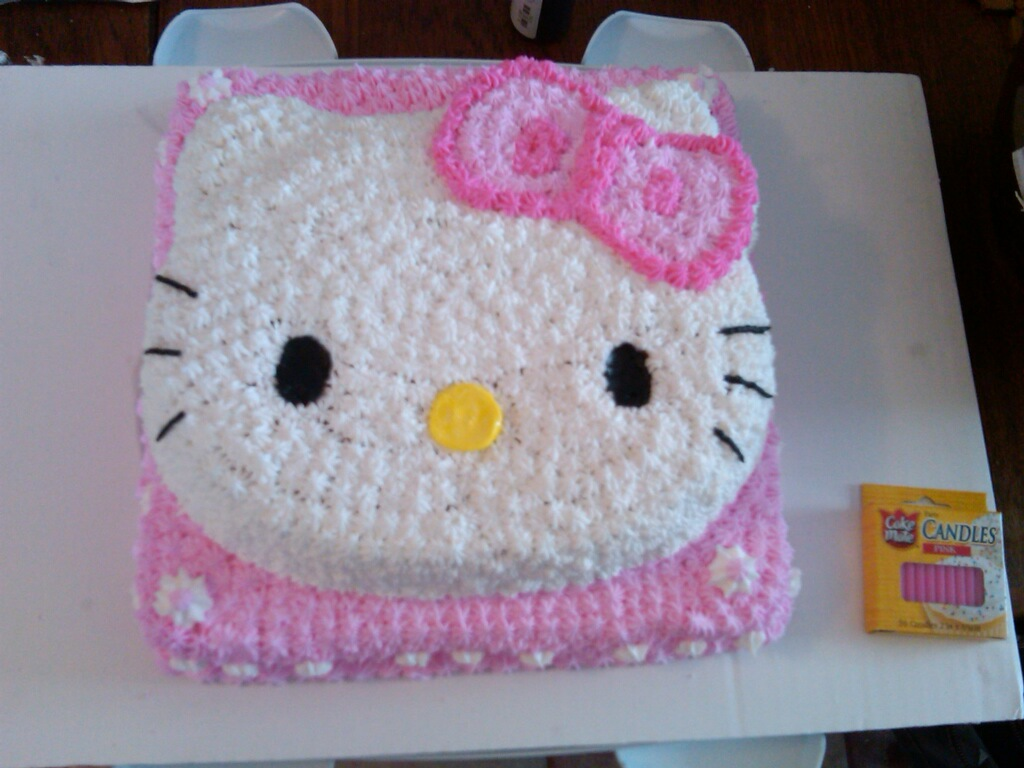 Hello Kitty Cake Decorations At Walmart